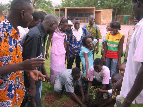 Überleben in Burkina Faso.
